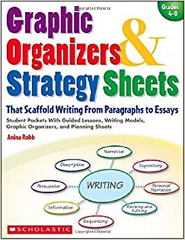 graphic organizers strategy sheets that scaffold writing from paragraphs to essays student packets with guided lessons writing models - Strategies For Writing Essays