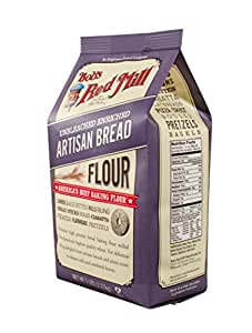 Amazon.com : Bob's Red Mill Artisan Bread Flour, 80 Ounces