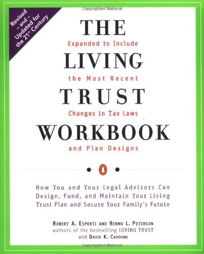 Download By Robert A. Esperti The Living Trust Workbook (Revised) [Paperback] ebook