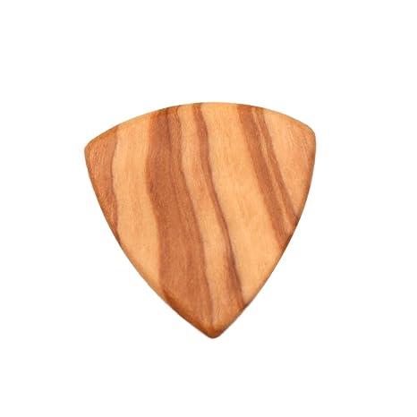 Púa de Madera Dedos Gordos Guitarras Acústica 2mm Guitarra Piezas ...