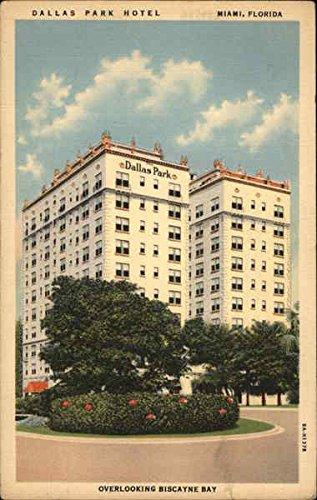 Dallas Park Hotel and Apartments Miami, Florida Original Vintage Postcard (Dallas Park Hotel)