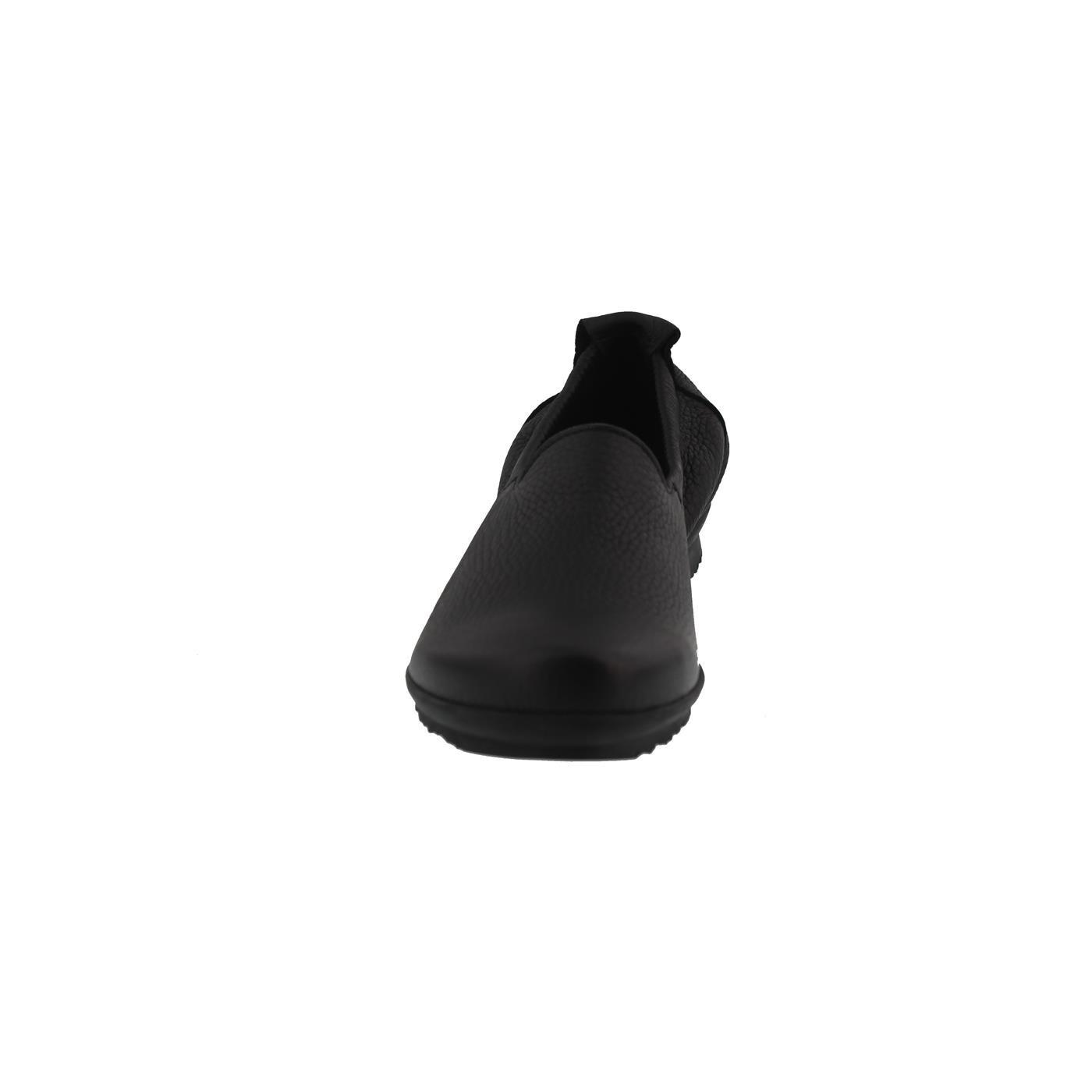 Arche Barral, Schwarz Slipper, Cerf Pleine Fleur (Hirschleder), Schwarz Barral, (Noir), Latexsohle Schwarz 94cd1d