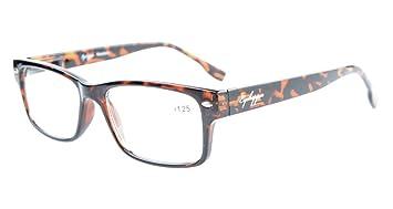 dda63c86f8b Eyekepper Readers Stylish Spring Hinges Reading Glasses Tortoiseshell +1.25