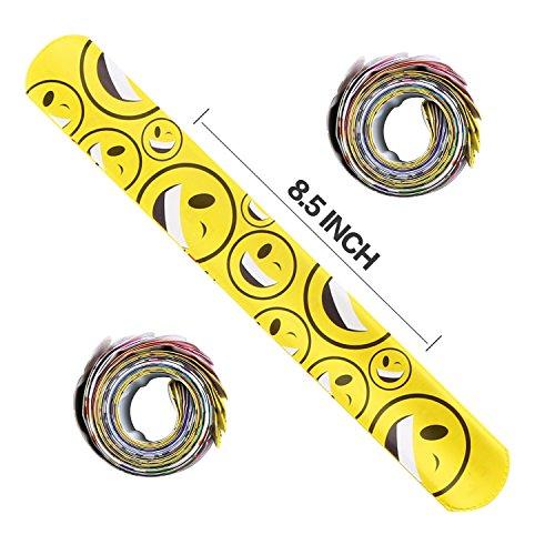 bracelets party52 pack slap bracelets 26 designyeonha