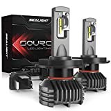 H4 LED Headlight Bulbs 9003/HB2 Hi/Low 12,000 Lumen High Power 6000K SEALIGHT S3 Series