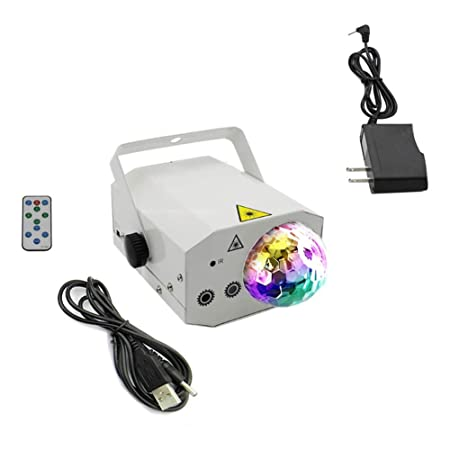 WTD! Disco Lights DJ Light, 16 Colores Dance Party Proyector con ...