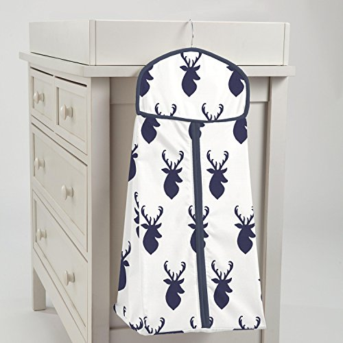 Carousel Designs Navy Deer Woodland Diaper Stacker by Carousel Designs