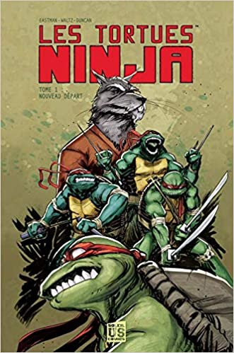 Les Tortues Ninja, Tome 1 (French Edition): 9782302020146 ...