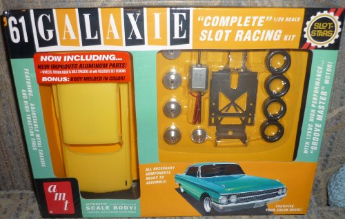 AMT 1961 Ford Galaxie Slot Car Race Kit