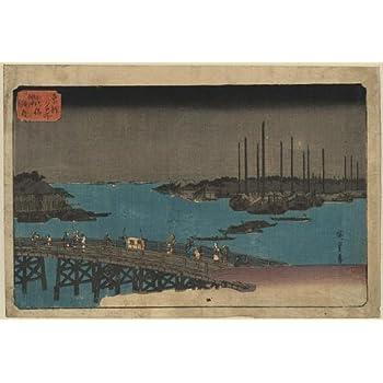 Hokuba Teisai Japan Sardines Photo of Ukiyo-e Size Japanese Print: Mezashi to tatamiiwashi Short Rod