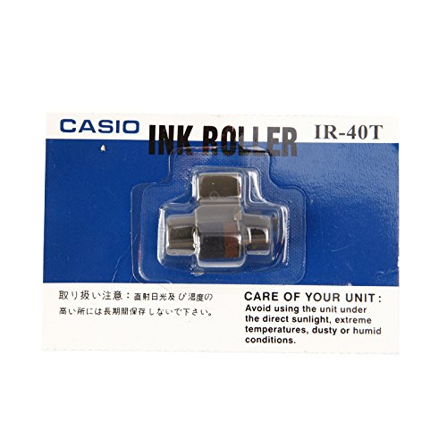 CASIO IR-40T Ink Roller Replacement For Casio Printing Calculator, Black/Red Ink, Pack 1 pcs.