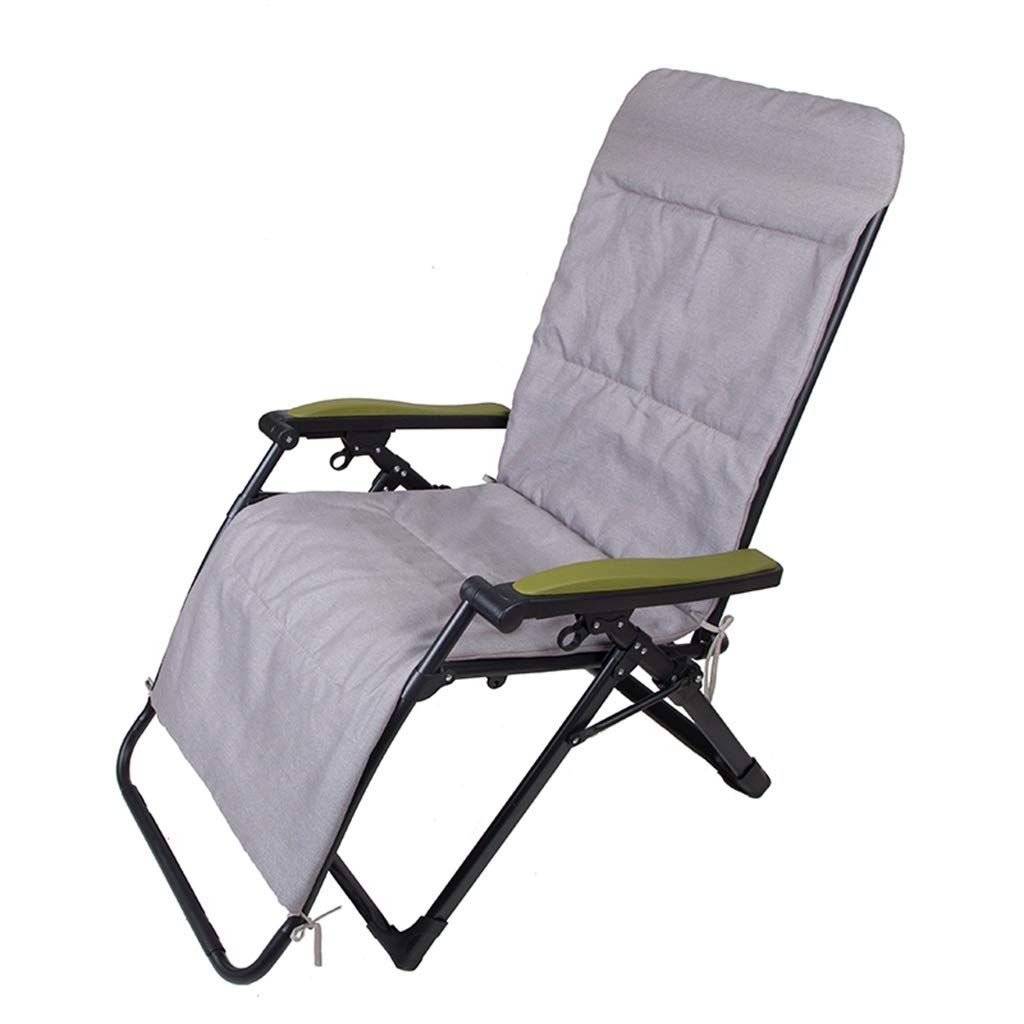 YY_C1 (Chaise de Loisirs, Chaise de Sieste élargie, Balcon Familial Balcon de Salon, Tube épaissi, Chaise élargie + Coton
