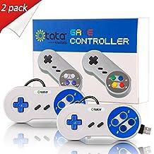 Retro Classic USB Controller, kiwitatá SNES Super Nintendo Controller USB Gamepad Joypad for Windows PC Mac Raspberry pi