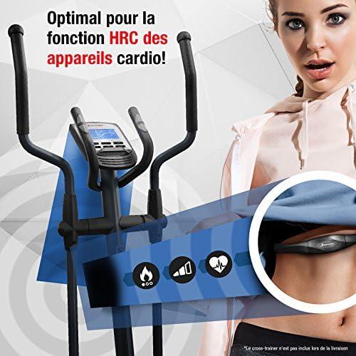v/élos elliptiques fr/équence Cardiaque pour entra/înement Sportif avec Tapis de Course appareils rameurs Sportstech Ceinture Poitrine Cardio FCM cardiofr/équencem/ètre ergom/ètres