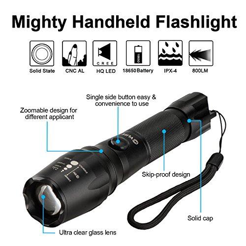 halo 800 lumen flashlight instructions