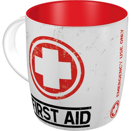 Nostalgic-Art 43008 Pharmacy First Aid, Tasse