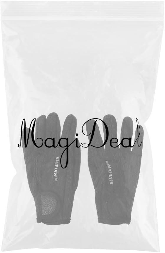 MagiDeal 1 Par Guantes de Neopreno 1.5Mm Buceo Nataci/ón Nataci/ón Piragua Kayak Deportes Acu/áticos