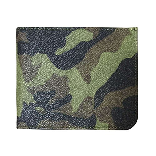 Wonder Wallet - Amazing Slim RFID Wallet for Men and Women AS Seen On TV Wonder Wallet insert (Camo_Green)