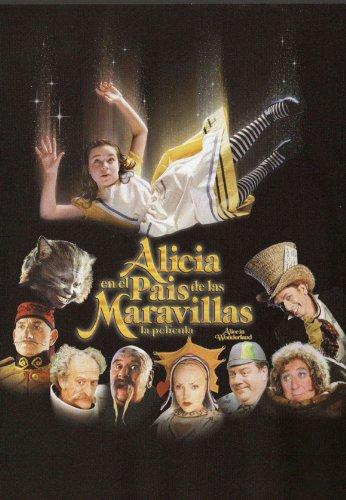 Alice in Wonderland Movie Poster (27 x 40 Inches - 69cm x 102cm) (1999) Spanish -(Robbie Coltrane)(Whoopi Goldberg)(Ben Kingsley)(Christopher Lloyd)(Pete Postlethwaite)(Miranda Richardson)