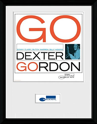 Amazon.com: Blue Note Records Framed Collector Poster - Dexter ...