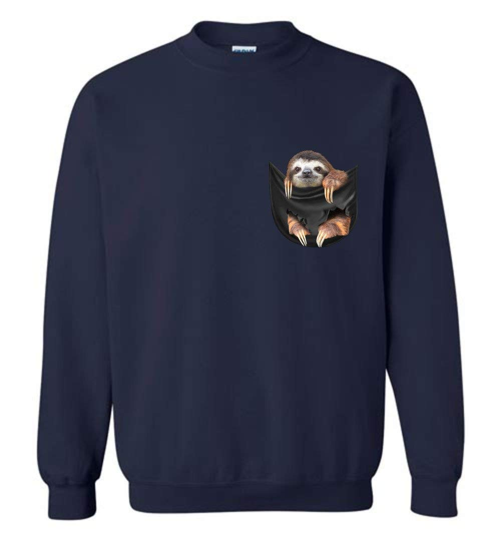 Sloth In A Pocket Funny Shirts