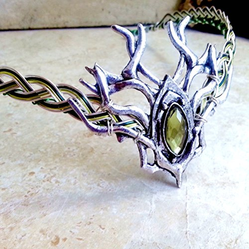 Celtic Woodland Elven Circlet Crown Headdress for Women or Men