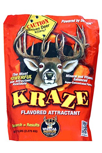 Whitetail Institute Kraze Liquid Deer Attractant, 64 (Deer Scent Liquid)