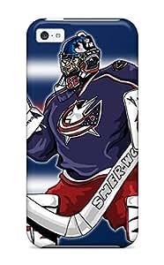 DanRobertse NuNRzOc14413OWReI Case Cover Skin For Iphone 5c (columbus Blue Jackets Hockey Nhl (26) )