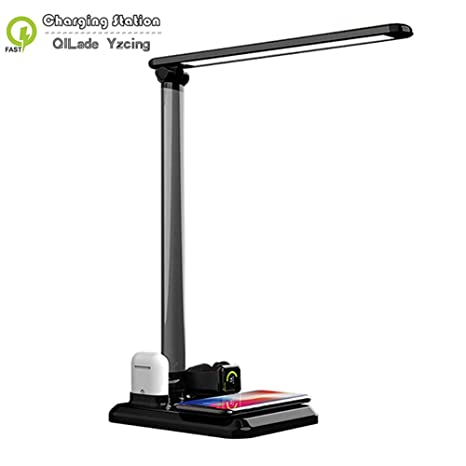 QILade Yzcing 4 in1 LED Desk Lamp Wireless Charger for
