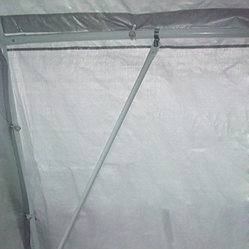 Quictent 20'X13'x10' Heavy Duty Carport Canopy Garage Shelter for Truck/ SUV/ Boat Silver by Quictent (Image #4)