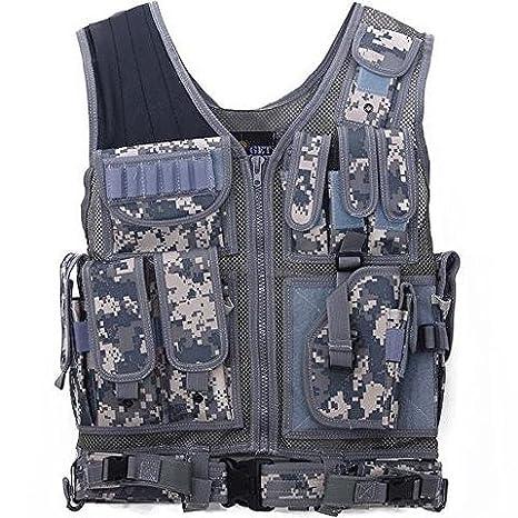 Tactical Outdoor Law Enforcement Tactical Vest Adjustable Adult SWAT Military Police Vest Tactical Outdoor Vest 360 Tactical