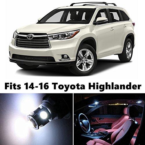 toyota highlander interior lights - 2