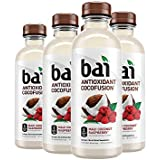 Bai Coconut Flavored Water, Maui Coconut Raspberry, Antioxidant Infused Drinks, 18 Fluid Ounce Bottles, 6 count