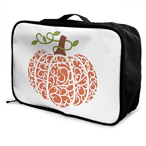 Cutest Pumpkin In The Patch – Halloween Lightweight Large Capacity Portable Luggage Bag Fashion Travel Duffel Bag