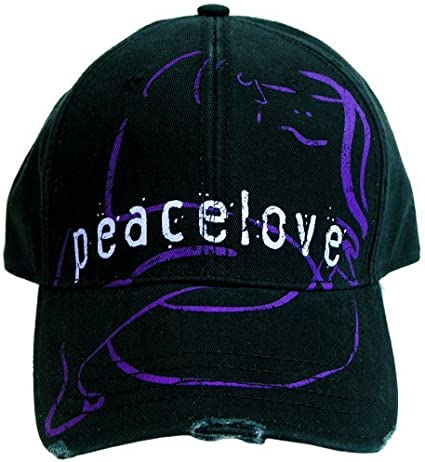 Amazon Com John Lennon Baseball Cap Peace Love Toys Games