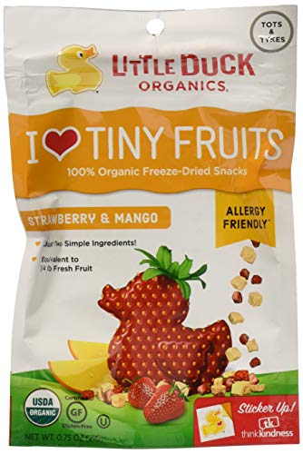- Little Duck Organics Tiny Fruits Strwbry Mngo 0.75Oz