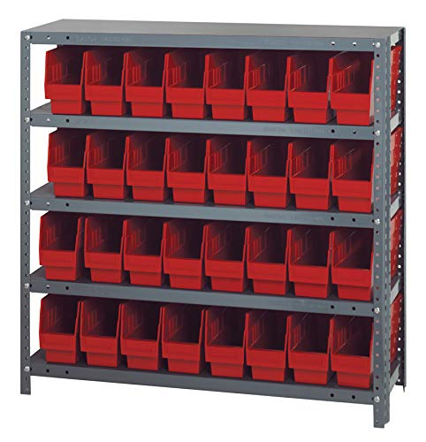 - Quantum Storage Systems 1239-201RD Store More Shelf and Bin Unit, 12