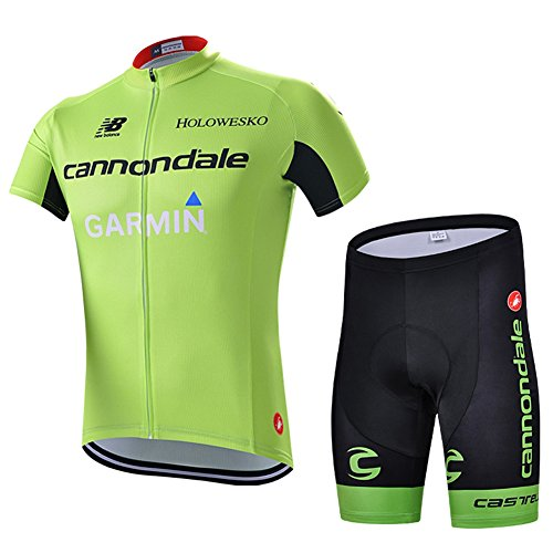 Strgao 2016 Men's Pro Racing Team MTB bike Bicycle Cycling Short Sleeve Jersey and shorts Set ()