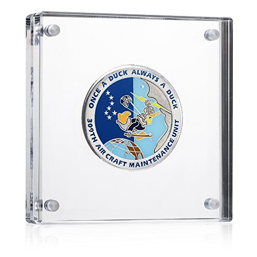 Challenge Coin Display - Holds Medals and Coins up to 1 3/4