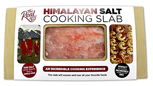 Single Origin Natural Himalayan Pink Salt Cooking Slab 12'' X 8'' X 1.5'' The Real Co by The Real Co