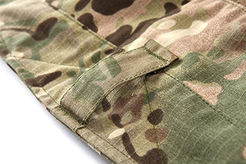 Huixin Combattimento cp Multicam Trekking Da Con Ginocchiera Tasche Airsoft Colour Pantaloni Caccia Uomo Skinny Tattici rgcRrZ