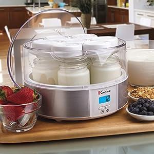 Euro Cuisine YMX650 Automatic Digital Yogurt Maker