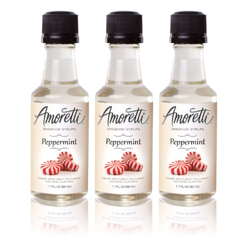 (Amoretti Premium Peppermint Syrups 50ml 3 Pack)