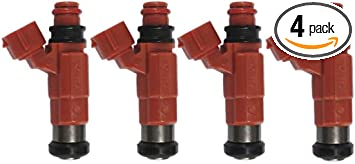Fuel Injectors Fit Yamaha Outboard 115 HP Marine Engine CDH210 2000 up 4 Set
