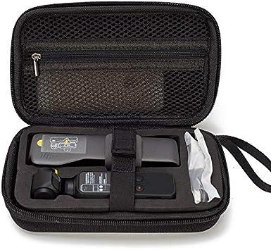 Estuche portátil de tamaño Mini para dji OSMO Accesorios de cardán de Mano de Bolsillo Estuche de Almacenamiento de Bolsillo Bolsa EVA Portátil-Negro: Amazon.es: Electrónica