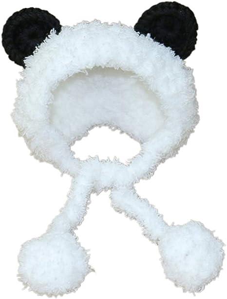 Balacoo Disfraz de Oso Panda para Perro, Calentador de oídos para ...