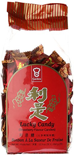 Lucky Candy (Strawberry Flavor) - 12.3oz (Pack of 1) (Speciality Gift Baskets)
