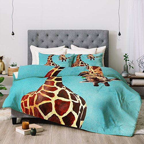 beautiful giraffe design comforter sets
