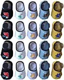 Best QandSweet Clothing For Boys - Qandsweet Baby Boy Non-Skid Socks Toddler Low Cut Review