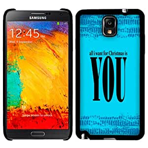 Samsung Galaxy Note 3 All I Want for Christmas is You Phone Case